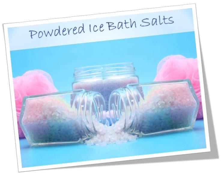 fun bath salts