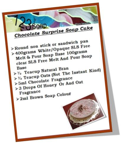 chocolate-three-layer-soap-cake-recipe 123soap.com